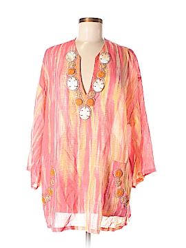 Soft Surroundings 3/4 Sleeve Blouse Size XL