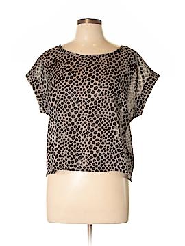 Chloe K Short Sleeve Blouse Size L