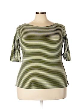 Jones New York Signature 3/4 Sleeve T-Shirt Size 1X (Plus)