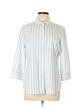 Foxcroft 3/4 Sleeve Button-Down Shirt Size 8