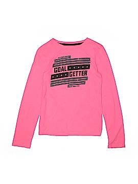 Danskin Now Long Sleeve T-Shirt Size L (Kids)