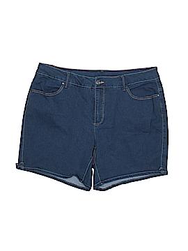 Faded Glory Denim Shorts Size 20 (Plus)