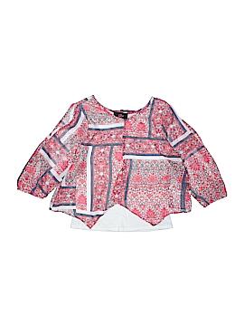 Iz Byer Short Sleeve Blouse Size 10 - 12