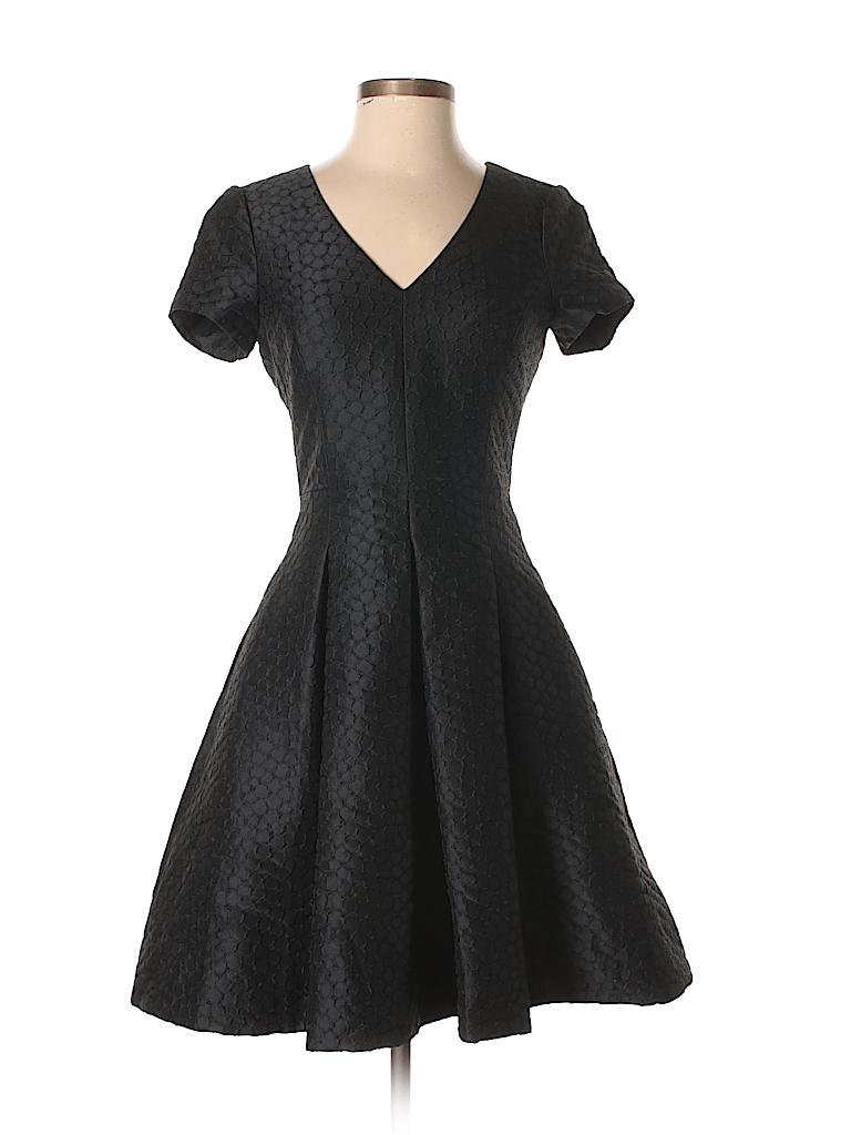 Banana Republic Solid Black Cocktail Dress Size 0 - 75% off | thredUP