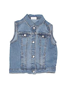Crazy 8 Denim Vest Size 5 - 6