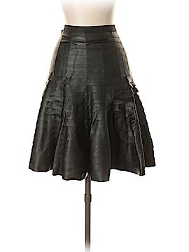BCBGMAXAZRIA Faux Leather Skirt Size S