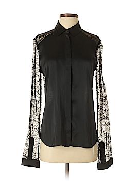 RobbI & Nikki Long Sleeve Silk Top Size S