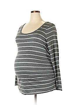 Liz Lange Maternity for Target Long Sleeve T-Shirt Size XXL (Maternity)