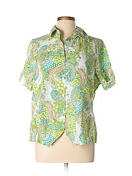 Koret Short Sleeve Button-Down Shirt Size 16