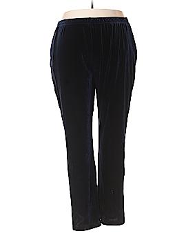 Lands' End Velour Pants Size 20 - 22W (Plus)