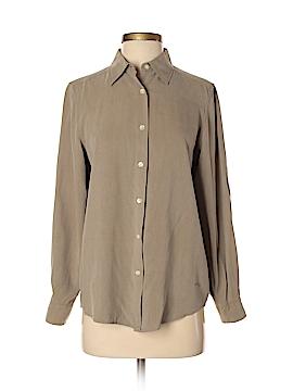 Orvis Long Sleeve Silk Top Size S
