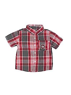 Boyz Wear By Nannette Short Sleeve Button-Down Shirt Size 2T