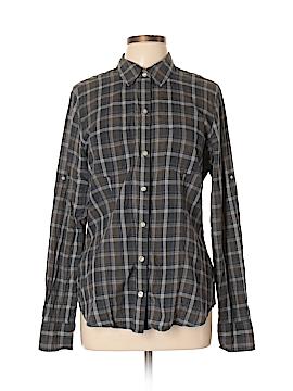 Converse One Star Long Sleeve Button-Down Shirt Size XL