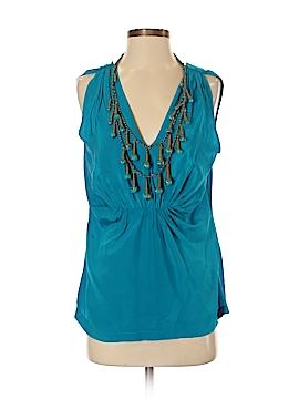 Ranna Gill Sleeveless Silk Top Size M