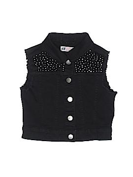 H&M Denim Vest Size 9