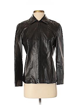 'S Max Mara Leather Jacket Size 2