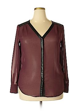 Rock & Republic Long Sleeve Blouse Size L