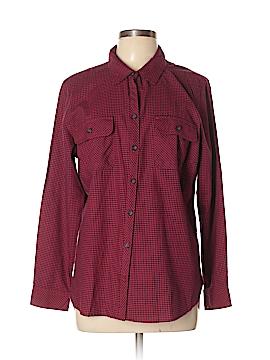 Croft & Barrow Long Sleeve Button-Down Shirt Size XL (Petite)
