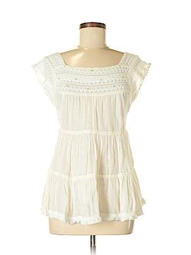 Unbranded Clothing Short Sleeve Blouse Size S (Petite)