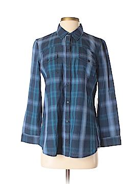 CALVIN KLEIN JEANS Long Sleeve Button-Down Shirt Size S