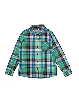 M&S Long Sleeve Button-Down Shirt Size 6 - 7
