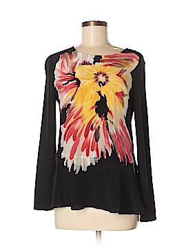 Nic + Zoe Silk Pullover Sweater Size M