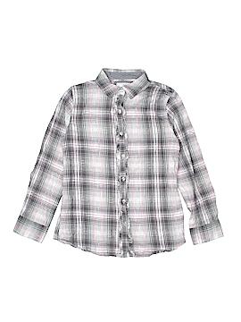 Green Soda Long Sleeve Button-Down Shirt Size 14 - 16