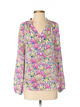 Yumi Kim Long Sleeve Silk Top Size S