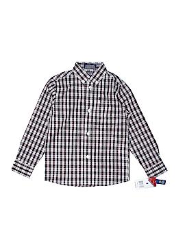 IZOD Long Sleeve Button-Down Shirt Size 5