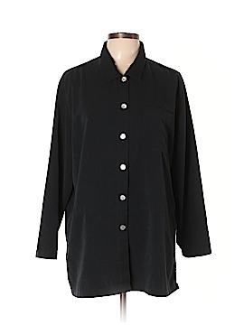 Travelsmith Long Sleeve Button-Down Shirt Size XL (Petite)