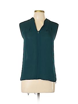 Elie Tahari Short Sleeve Blouse Size L