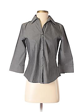 Foxcroft 3/4 Sleeve Button-Down Shirt Size 2 (Petite)