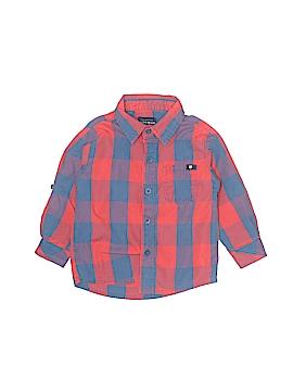 Lucky Brand Long Sleeve Button-Down Shirt Size 18 mo
