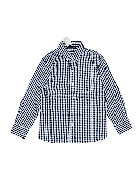 Gap Kids Long Sleeve Button-Down Shirt Size M (Kids)