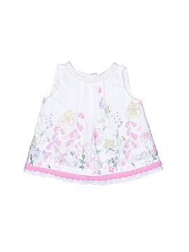 Cotton Kids Sleeveless Blouse Size 3 mo