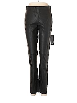 Zara Basic Faux Leather Pants Size M