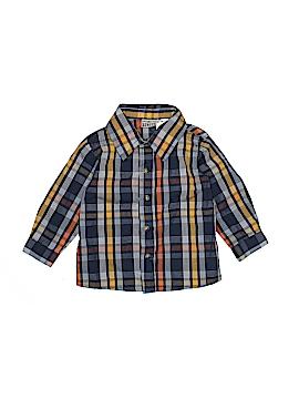 Little Rebels Long Sleeve Button-Down Shirt Size 2T