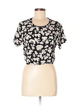 Mink Pink Short Sleeve Blouse Size M