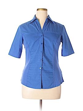 Zac & Rachel Short Sleeve Button-Down Shirt Size XL