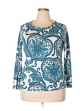 St. John's Bay Long Sleeve T-Shirt Size 1X (Plus)