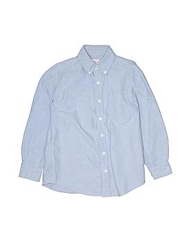 Talbots Kids Long Sleeve Button-Down Shirt Size 8