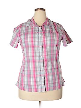 Columbia Short Sleeve Button-Down Shirt Size XL