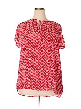 Liz Claiborne Short Sleeve Blouse Size 1X (Plus)