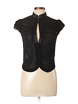 Topshop Short Sleeve Blouse Size 12