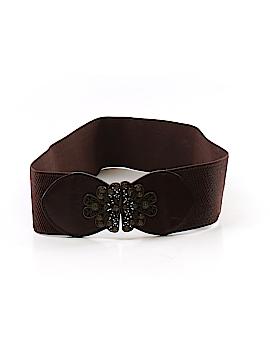 Unbranded Accessories Leather Belt Size Med - Lg