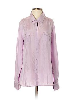 Tommy Bahama Long Sleeve Silk Top Size S