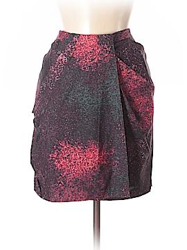 Halston Heritage Silk Skirt Size 8