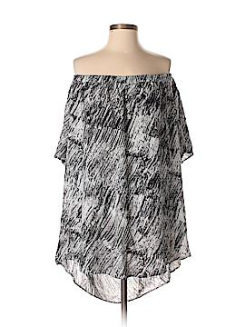 Dex Short Sleeve Blouse Size XS