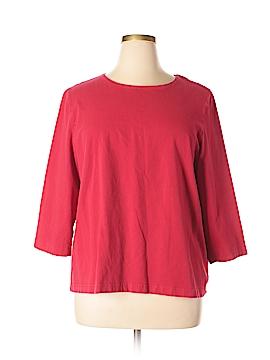 Kim Rogers Long Sleeve T-Shirt Size 2X (Plus)