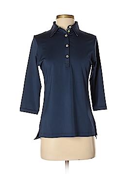 PETER MILLAR 3/4 Sleeve Polo Size S